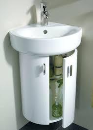 corner bathroom sink ideas bathroom corner vanities and sinks northlight co
