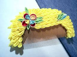 fabulous hair ornaments kanzashi taiken japan