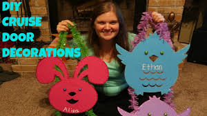 door decorations diy cruise door decorations