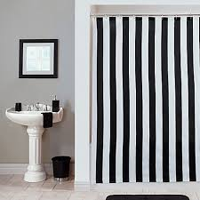 The Latest In Shower Curtain Black White Stripe Shower Curtain The Latest In Shower Curtain
