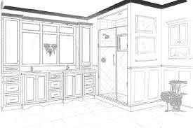 Bathroom Closet Design by Glamorous Master Bath U0026 Closet Remodel Essence Design Studios Llc