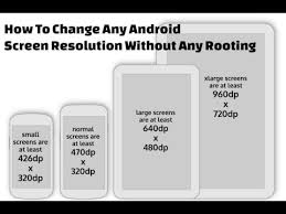 android resolution change resolution in any android device without root