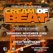 of beat reunion thanksgiving celebration tickets the