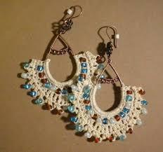 Knitted Chandelier Earrings Pattern 194 Best Crochet Earrings Images On Pinterest Crochet Earrings