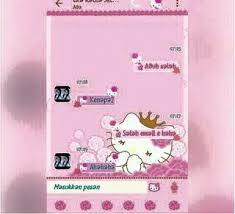 bbm mod kitty flower pink v3 2 0 6 color khoirapk