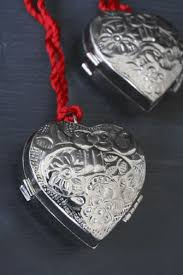 silver locket ornament so much more than a decoration the silver