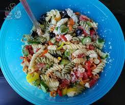 greek pasta salad weight watchers friendly