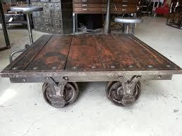 railroad cart coffee table coffee table impressive railroad cart coffee table image concept