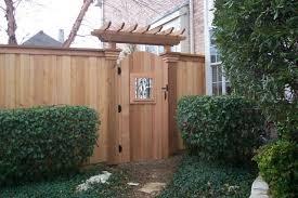 Backyard Gate Ideas Southwest Fence Deck Fences And Gates Traditional Landscape