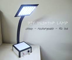 Best Inexpensive Desk Lamp Make Your Own Desktop Led Lamp 26 Steps With Pictures