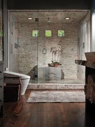 modern natural nuance inside the modern natural bathroom design