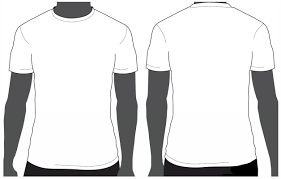 T Shirt Front And Back Template Psd tshirt design template pertamini co