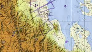 Eritrea Map Asmara Massawa Area Tactical Pilotage Chart Eritrea Full Size