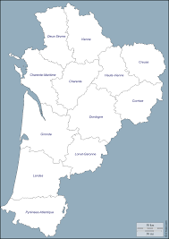 Dordogne France Map by Nouvelle Aquitaine Free Map Free Blank Map Free Outline Map