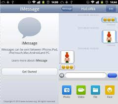 imessage chat apk unofficial imessage app hits android but i wouldn t it