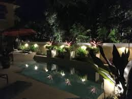 Landscape Lighting Wall Wash - outdoor lighting perspectives of naples