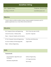 The Best Resume Format Ever by Free Resume Templates Best Job Format Examples In The Resumes 87