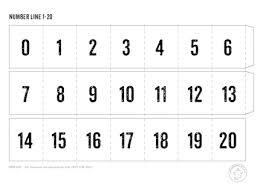 addition addition worksheets for kindergarten with number line