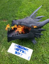 Dragon Fire Pit by Fire Breathing Dragon Fire Pit The Green Head