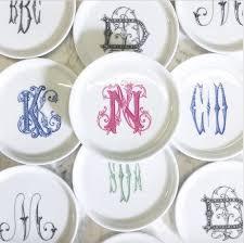 monogrammed plate nicholas monogrammed coaster gift monogram