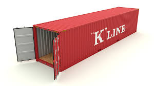 shipping container k line by dragosburian 3docean