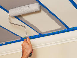 ways painting ceiling tiles u2014 color can you make