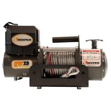 warn zeon 8 s 8 000 lb winch with synthetic 89305 the home