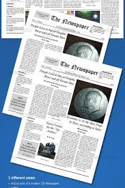 old newspaper template u2013 20 jpg psd format download free