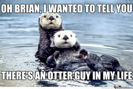 Sea Otter Meme - list of synonyms and antonyms of the word otters holding hands captions