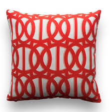 Sunbrella Outdoor Cushion Reflex Flame Pillow Cover Sunbrella U2013 Onehappypillow