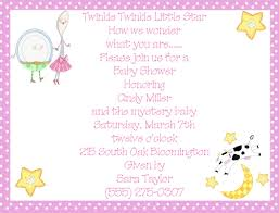 nursery rhyme baby shower rhymes pink girl baby shower invitations