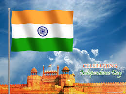 Indian National Flag Hoisting Proud To Be Indian