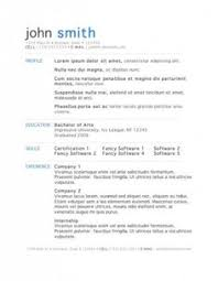 21 free résumé designs every job hunter needs business and