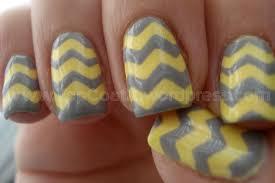 chevron tape nail art tutorial chevron nail tutorial top coat it