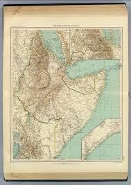 Eritrea Map 116 17 Eritrea Etiopia Somalia David Rumsey Historical Map