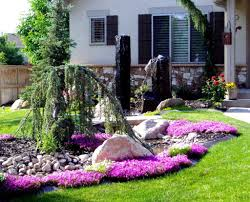 fabulous small front yard landscaping ideas with rocks garden x