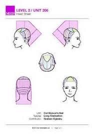 head diagram stencils hairbrained haircut avanard pinterest