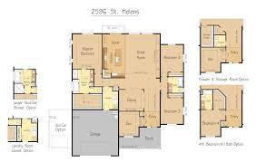 Custom Floor Plan St Helens 2596 Sqft Garrette Custom Homes