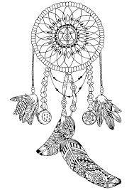 dreamcatcher by pauline zen and anti stress coloring pages for