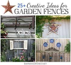ideas for garden fences 25 creative ideas for garden fences
