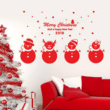 Christmas Wall Pictures by Online Shop 2018 Happy New Year Merry Christmas Wall Sticker Home