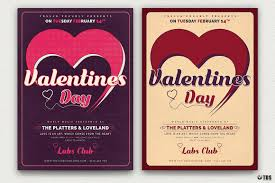valentines flyer template s day flyer template v9 that s design store