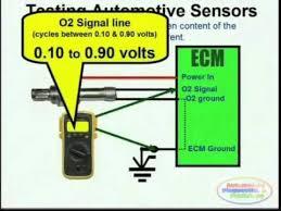 o2 sensor wiring diagrams