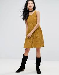 free people free people miles of lace skater dress