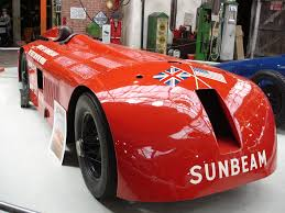 lexus breakers wolverhampton sunbeam 1000hp with two v12 engine on 29 march 1927 the car