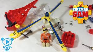 fireman sam helicopter toys teardown video children kids
