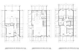 Townhome Floor Plan by Riverwalk Townhomes Century Builders