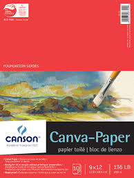 save on discount canson foundation series canva paper canvas pad
