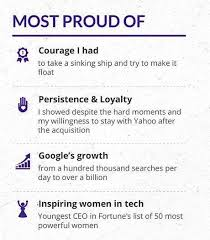yahoo ceo marissa mayer u0027s one page cv will inspire resume envy and