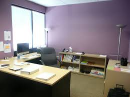 office color ideas office cute purple wall painted color for office room with l
